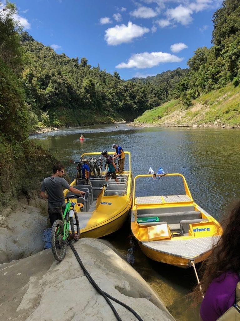 New Zealand Mountain biking