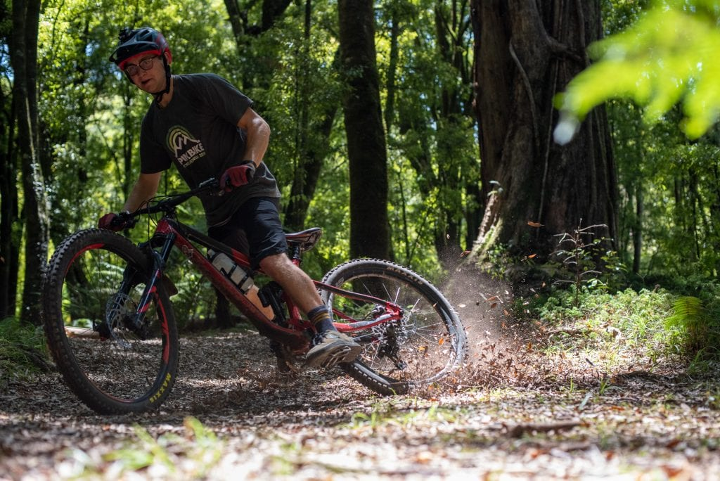 Rotorua mountain bike lessons e bike